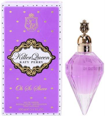 Katy Perry Killer Queen Oh So Sheer eau de parfum para mujer