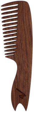 Keltic Krew Accessories натуральний гребінець для волосся малий