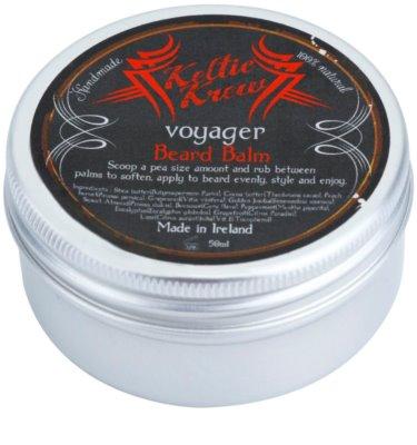 Keltic Krew Voyager bálsamo de eucalipto para la barba