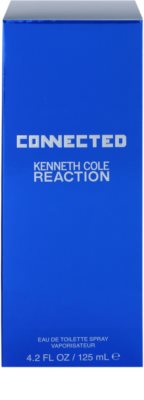 Kenneth Cole Connected Reaction eau de toilette para hombre 4