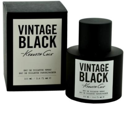 Kenneth Cole Vintage Black Eau de Toilette pentru barbati