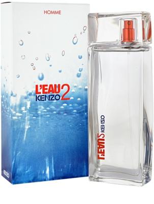 Kenzo L´Eau Kenzo 2 Eau de Toilette pentru barbati