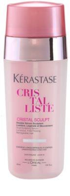 Kérastase Cristalliste sérum dual creme de limpeza para pele irritada e seca devido ao tratamento de acne
