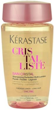 Kérastase Cristalliste leichte nährende Shampoo-Kur für Glanz und Natürlichkeit der Haare