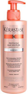 Kérastase Discipline tratamiento regenerador con queratina  para cabello rebelde