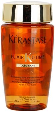 Kérastase Elixir Ultime насичений шампунь з олійкою для густого, товстого та сухого волосся