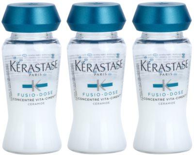 Kérastase Fusio-Dose tratamento restaurador intensivo para cabelo danificado 1