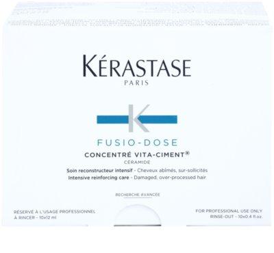 Kérastase Fusio-Dose tratamento restaurador intensivo para cabelo danificado 2