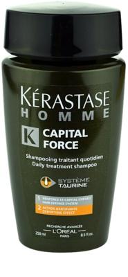 Kérastase Homme Capital Force champú anticaída del cabello