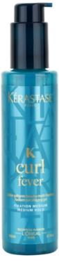 Kérastase K gel modelador para brilho do cabelo ondulado encaracolado