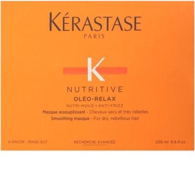Kérastase Nutritive máscara alisante para cabelo seco e rebelde 2