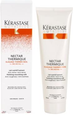 Kérastase Nutritive wygładzające i odżywcze mleczko termoochronne do włosów suchych 2