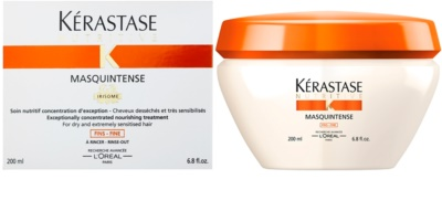 Kérastase Nutritive maseczka  do włosów suchych i łamliwych 1