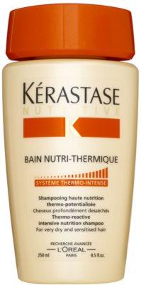 Kérastase Nutritive champô termoativo  para cabelo muito seco e sensível