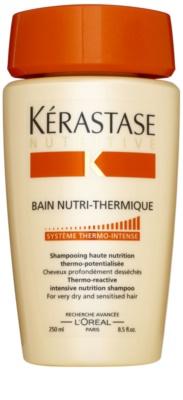 Kérastase Nutritive champú termo-activo para cabello muy seco y sensible