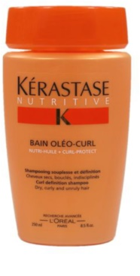Kérastase Nutritive champô para caracóis definidos para cabelo, seco, rebelde e encaracolado