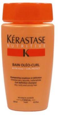 Kérastase Nutritive Shampoo-Kur für Schwung und Form von trockenen, gewellten und lockigen Haaren