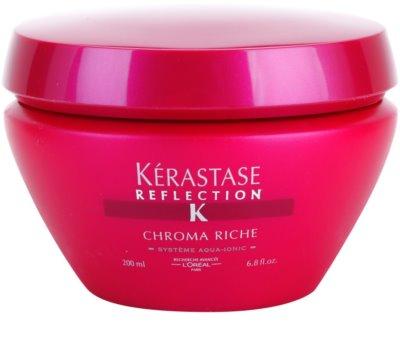 Kérastase Reflection Chroma Riche maseczka  do włosów farbowanych