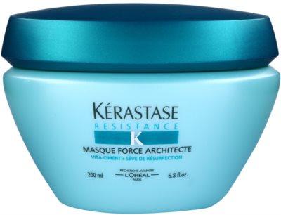 Kérastase Resistance mascarilla fortalecedora para cabello frágil, dañado y con puntas abiertas
