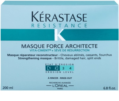 Kérastase Resistance máscara fortificante para cabelo danificado, frágil e com pontas duplas 2