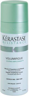 Kérastase Resistance espuma de cabelo para volume duradouro