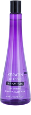 Keratin Classic Smooth šampon pro nepoddajné a krepatějící se vlasy