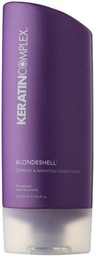 Keratin Complex Blondeshell balsam hranitor pentru parul blond cu suvite