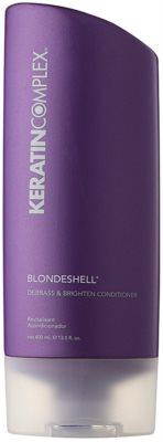Keratin Complex Blondeshell поживний кондиціонер для блонд та мелірованого волосся