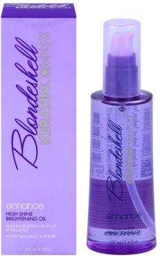Keratin Complex Blondeshell olaj a szőke és melírozott hajra 1