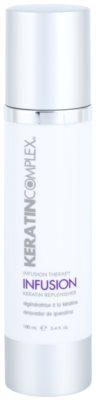 Keratin Complex Infusion Therapy schützende regenerierende Creme für thermische Umformung von Haaren