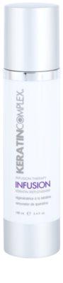 Keratin Complex Infusion Therapy zaščitna regeneracijska krema za toplotno oblikovanje las