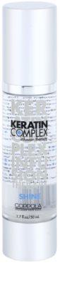 Keratin Complex Infusion Therapy Öl für Glanz auf trockenem und brüchigem Haar