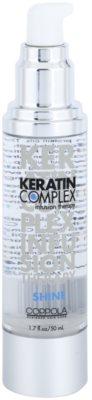 Keratin Complex Infusion Therapy Öl für Glanz auf trockenem und brüchigem Haar 1