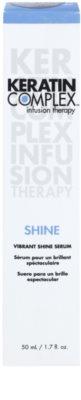 Keratin Complex Infusion Therapy Öl für Glanz auf trockenem und brüchigem Haar 3