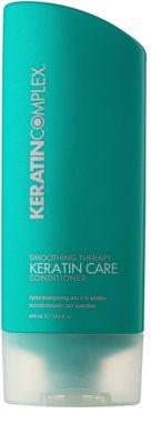 Keratin Complex Smoothing Therapy condicionador para cabelo brilhante e macio