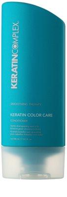 Keratin Complex Smoothing Therapy Balsam pentru par cu efect hidratant pentru protecția culorii