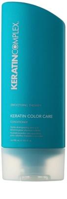 Keratin Complex Smoothing Therapy vlažilni in gladilni balzam za zaščito barve