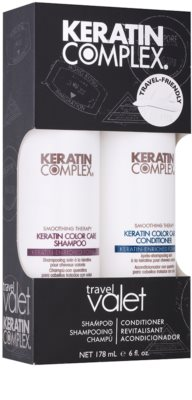 Keratin Complex Smoothing Therapy козметичен пакет  I.