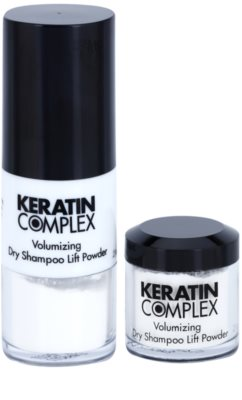 Keratin Complex Smoothing Therapy suchý šampon pro objem a lesk