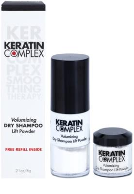 Keratin Complex Smoothing Therapy suhi šampon za volumen in sijaj 2