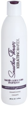 Keratin Complex Smoothing Therapy поживний шампунь для фарбованого волосся
