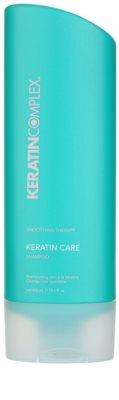 Keratin Complex Smoothing Therapy Schützendes Shampoo für gefärbtes und geschädigtes Haar