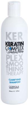 Keratin Complex Smoothing Therapy champú limpiador en profundidad con keratina