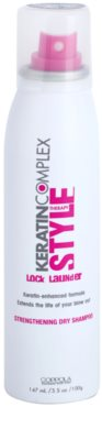 Keratin Complex Style Therapy champô seco com queratina