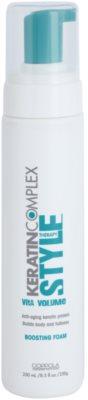 Keratin Complex Style Therapy Schaum für kräftigen Haaransatz mit Keratin