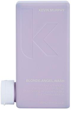 Kevin Murphy Blonde Angel Wash champú violeta para cabello rubio y con mechas