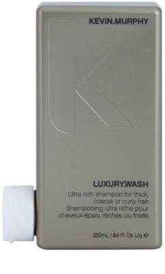 Kevin Murphy Luxury Wash champú para cabello voluminoso, grueso y áspero