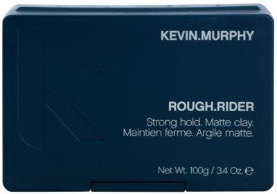 Kevin Murphy Rough Rider argila para styling de cabelo com efeito matificante