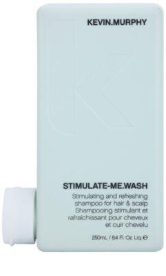 Kevin Murphy Stimulate-Me Wash champú estimulante y refrescante para cabello y cuero cabelludo