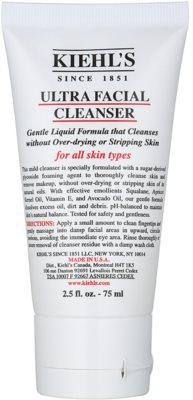Kiehl's Ultra Facial м'який очищуючий гель для всіх типів шкіри